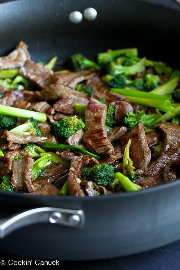 Healthy Chinese Recipes  Chinese Beef & Broccoli Stir Fry Recipe Skinnytaste