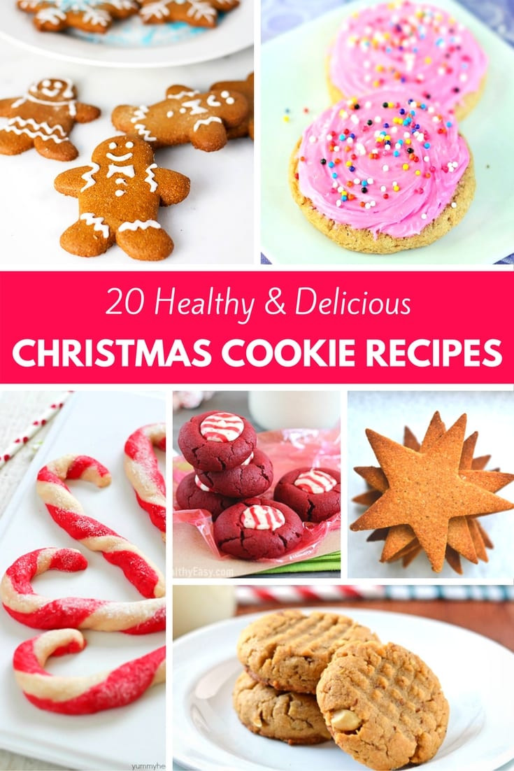 Healthy Christmas Cookies  20 Healthy & Delicious Christmas Cookie Recipes PinkWhen