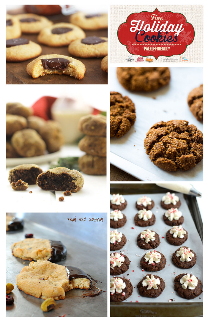 Healthy Christmas Cookies  Paleo Hot Cocoa Cookies
