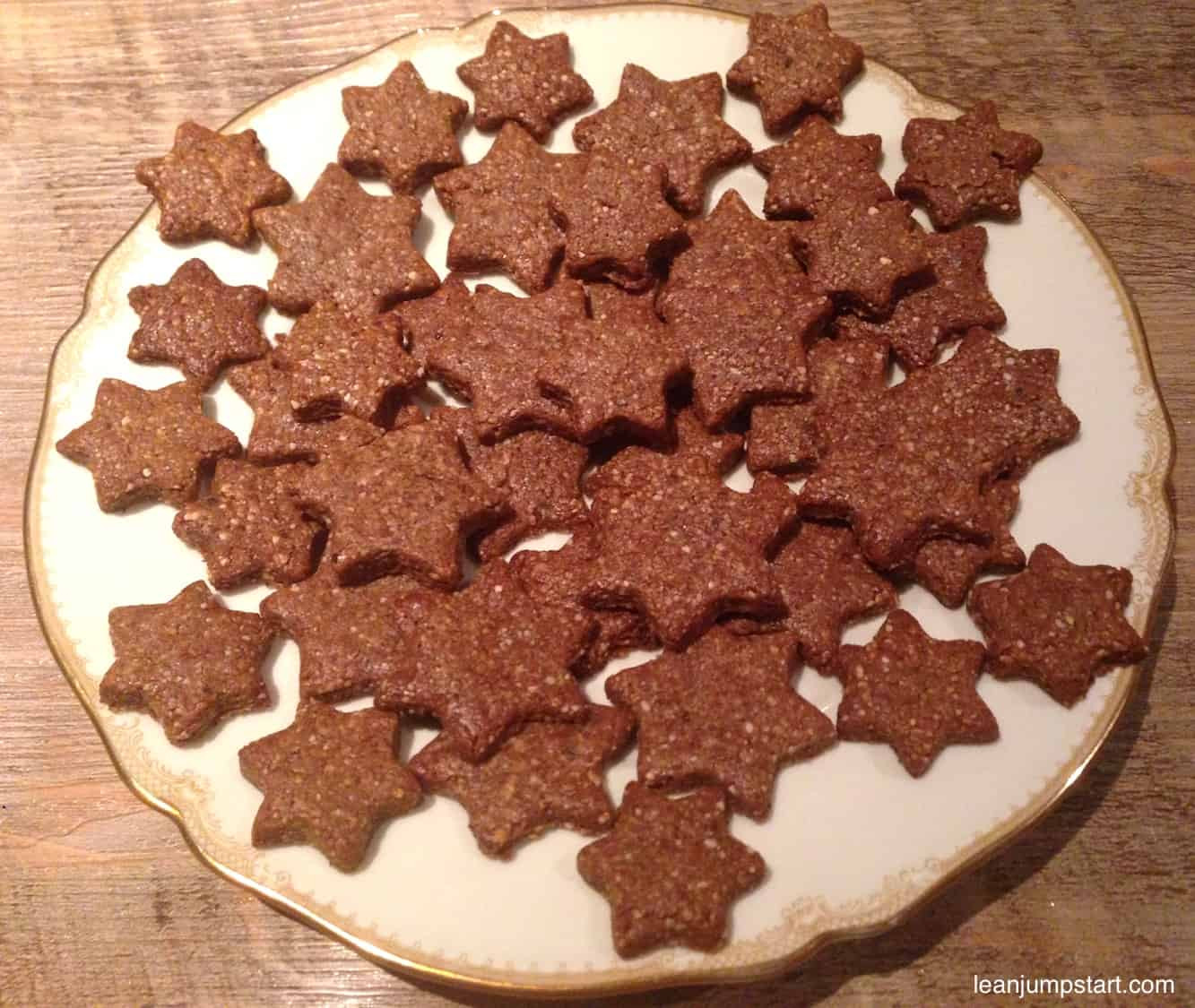 Healthy Christmas Cookies  Healthy Christmas Cookies Awesome clean eating cinnamon stars