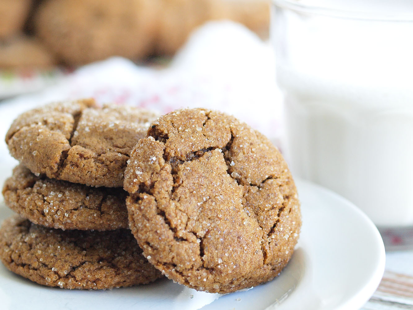 Healthy Christmas Cookies  Healthy Ginger Cookies Happy Healthy Mama