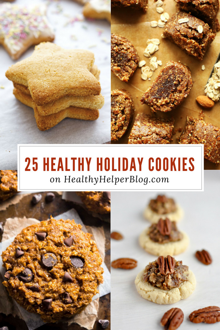 Healthy Christmas Cookies  25 Healthy Holiday Cookies • Healthy Helper