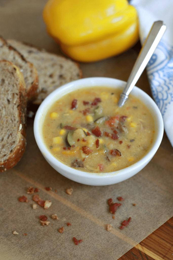 Healthy Corn Chowder  Healthier Corn Chowder