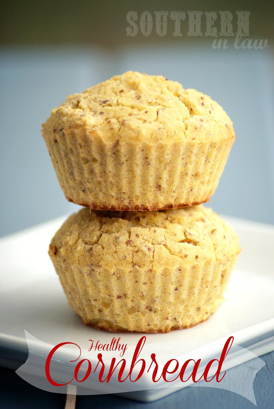Healthy Cornbread Recipe  Southern In Law Recipe Healthy Cornbread Muffins