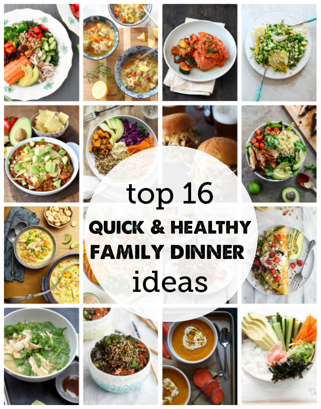 Healthy Dinner Ideas For Family  16 Fresh Dinner Recipes for a Healthy New Year Modern
