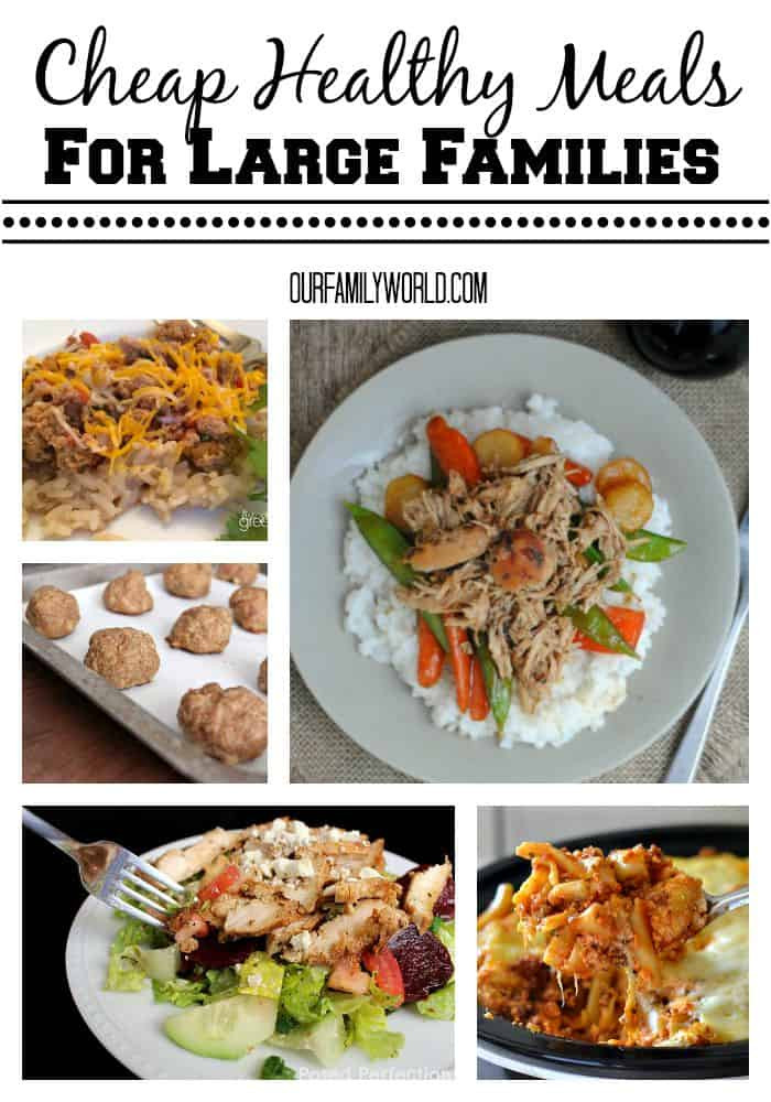 Healthy Dinner Ideas For Family  Cheap Healthy Meals For Families