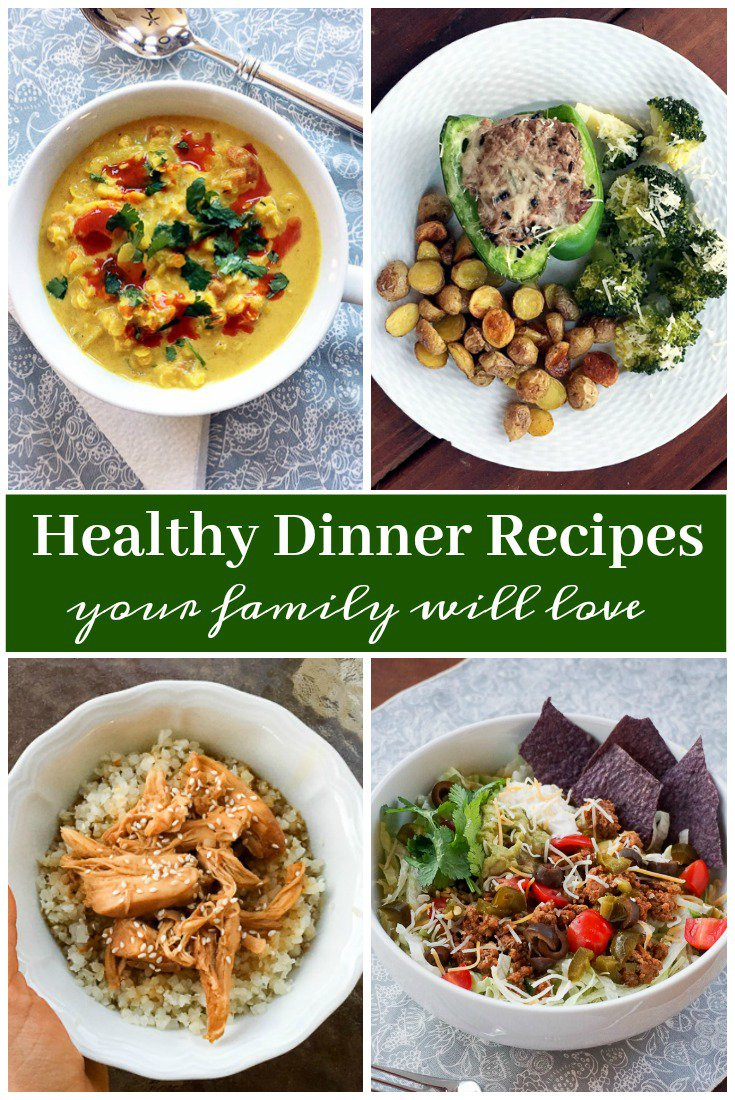 Healthy Dinner Ideas For Family  Healthy Dinner Ideas and Recipes Your Family Will Love