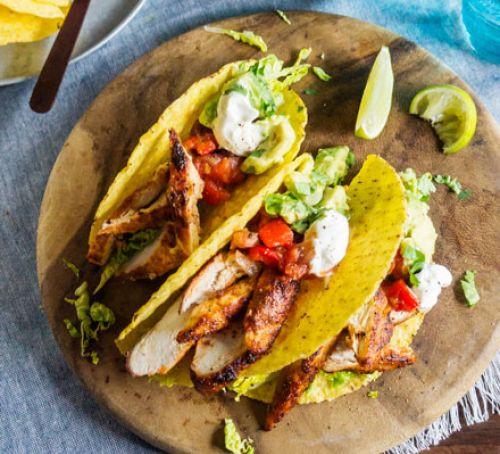 Healthy Dinner Ideas For Kids  Lighter chicken tacos recipe