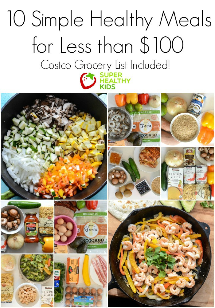 Healthy Dinner Ideas For Kids  10 Simple Healthy Kid Approved Meals from Costco for Less