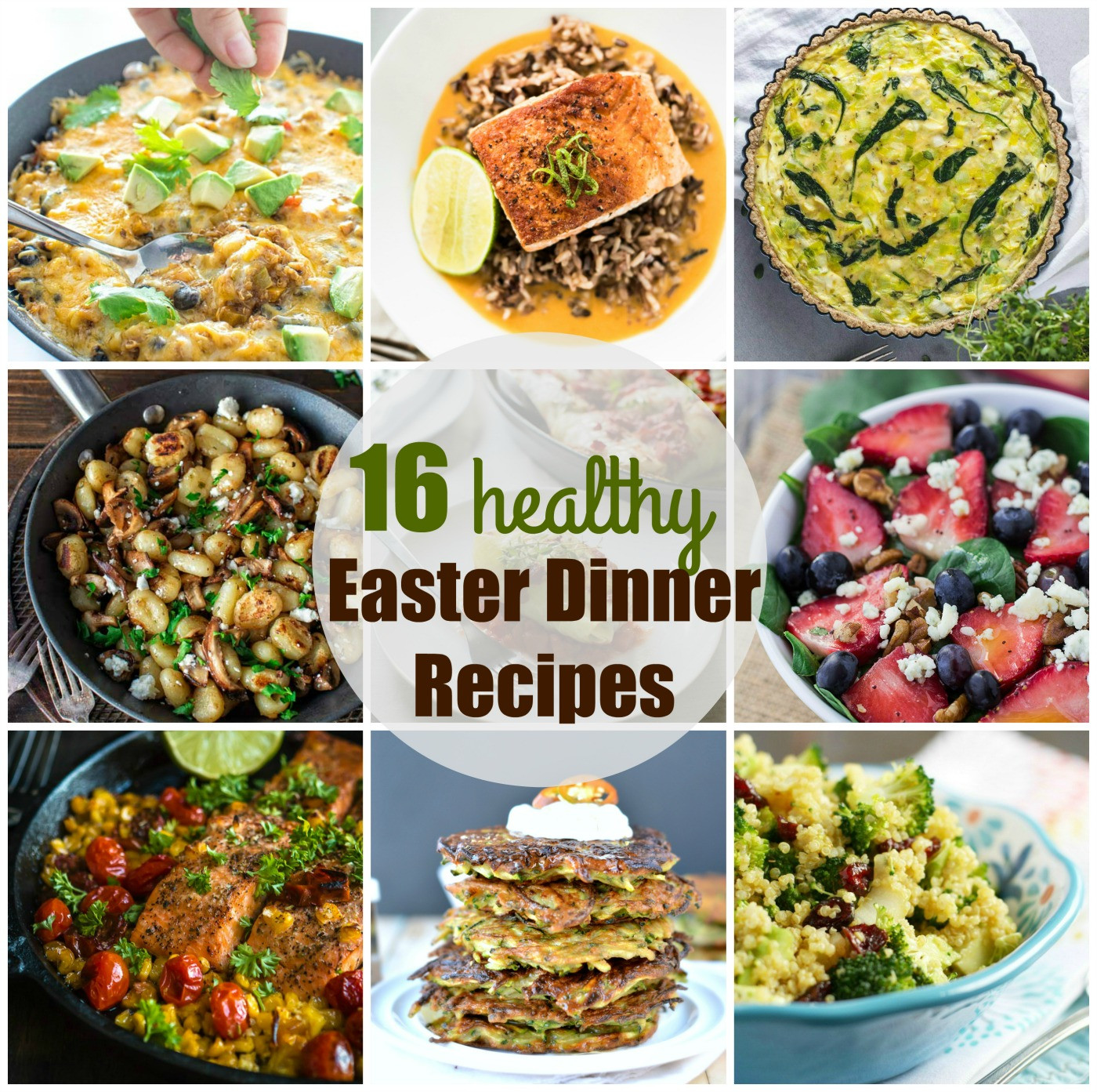 Healthy Dinner Ideas Pinterest  Easter dinner recipes 16 Healthy easter recipes