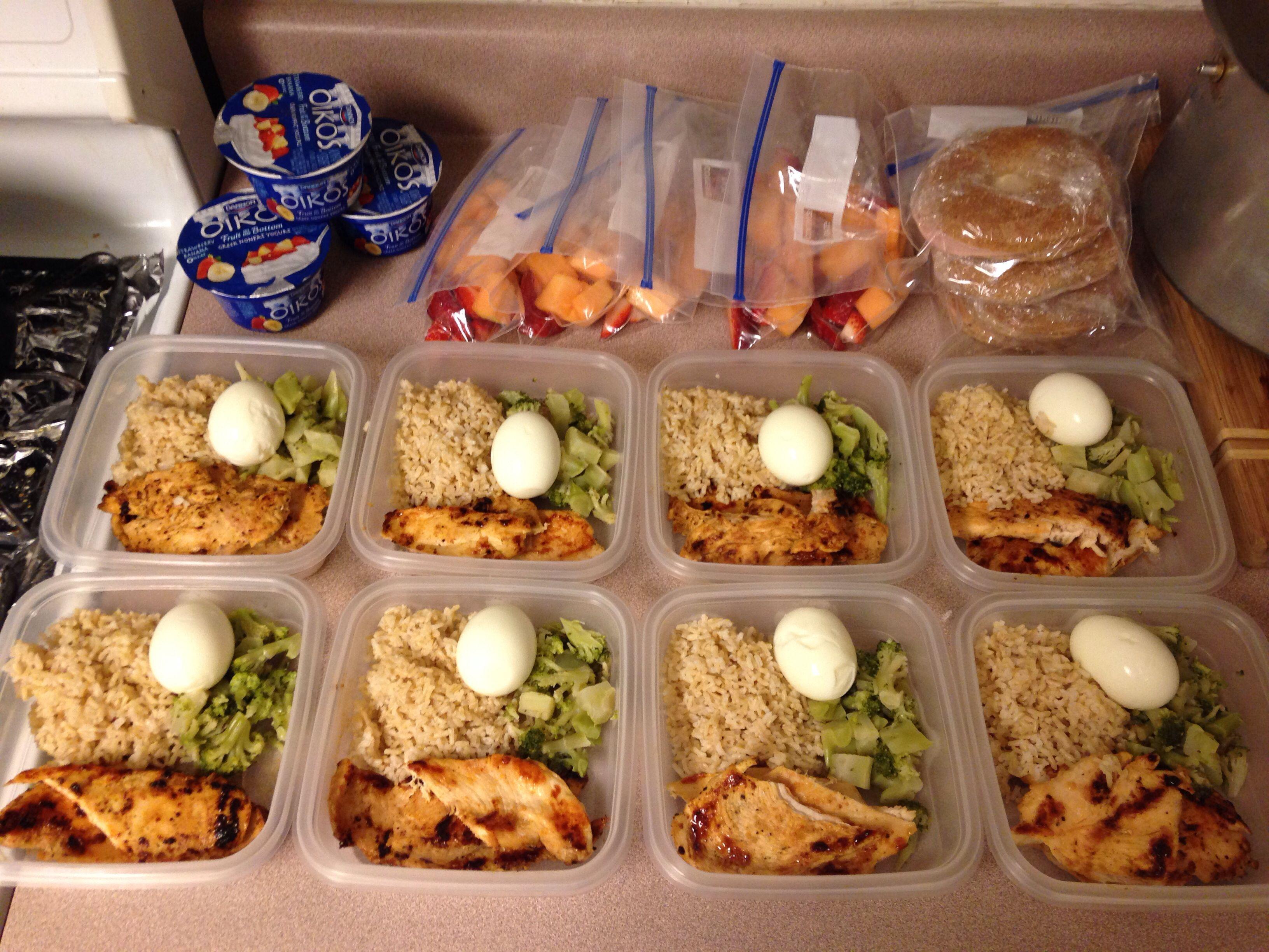 Healthy Dinner Ideas Pinterest  Meal Prep Meal Prep Ideas