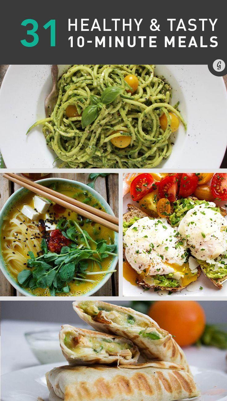 Healthy Dinner Ideas Pinterest  Best 25 Easy fast recipes ideas on Pinterest