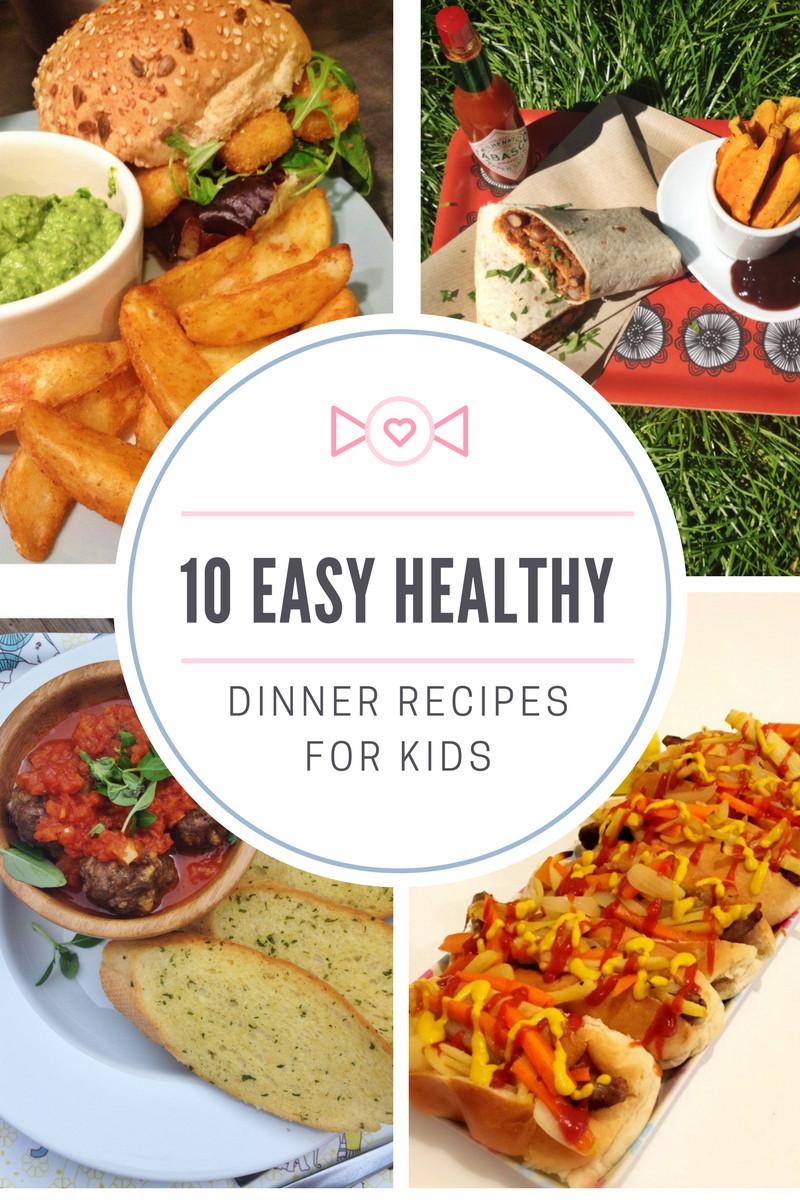 Healthy Dinner Ideas Pinterest  10 easy healthy dinner recipes for kids