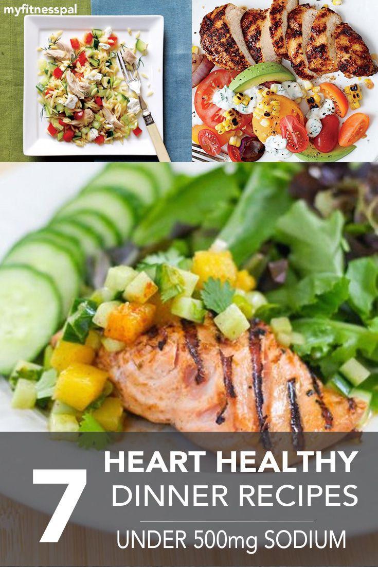 Healthy Dinner Ideas Pinterest  100 Heart healthy recipes on Pinterest