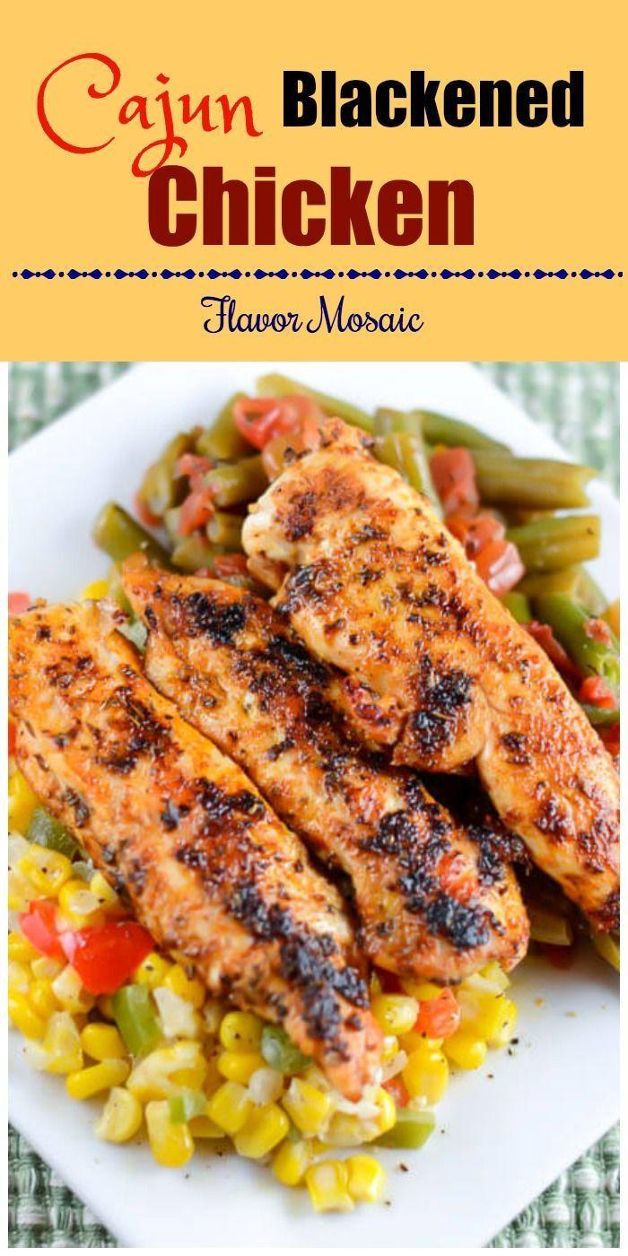 Healthy Dinner Recipes Easy  100 Cajun chicken recipes on Pinterest