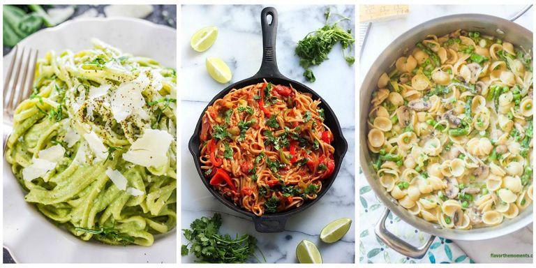 Healthy Dinner Recipes Easy  25 Healthy Pasta Recipes Light Pasta Dinner Ideas