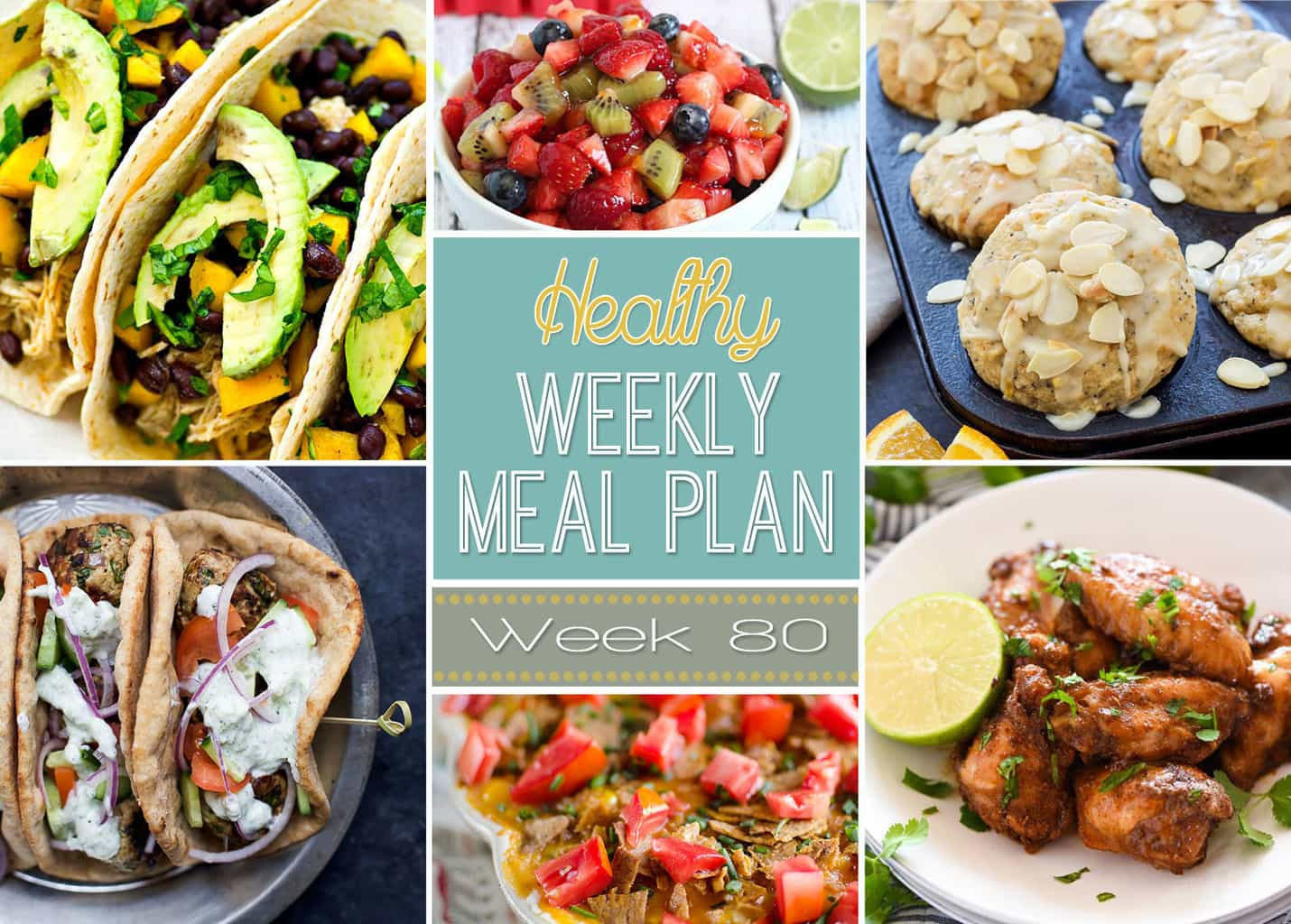 Healthy Dinner Sides  Healthy Weekly Meal Plan 80 Yummy Healthy Easy