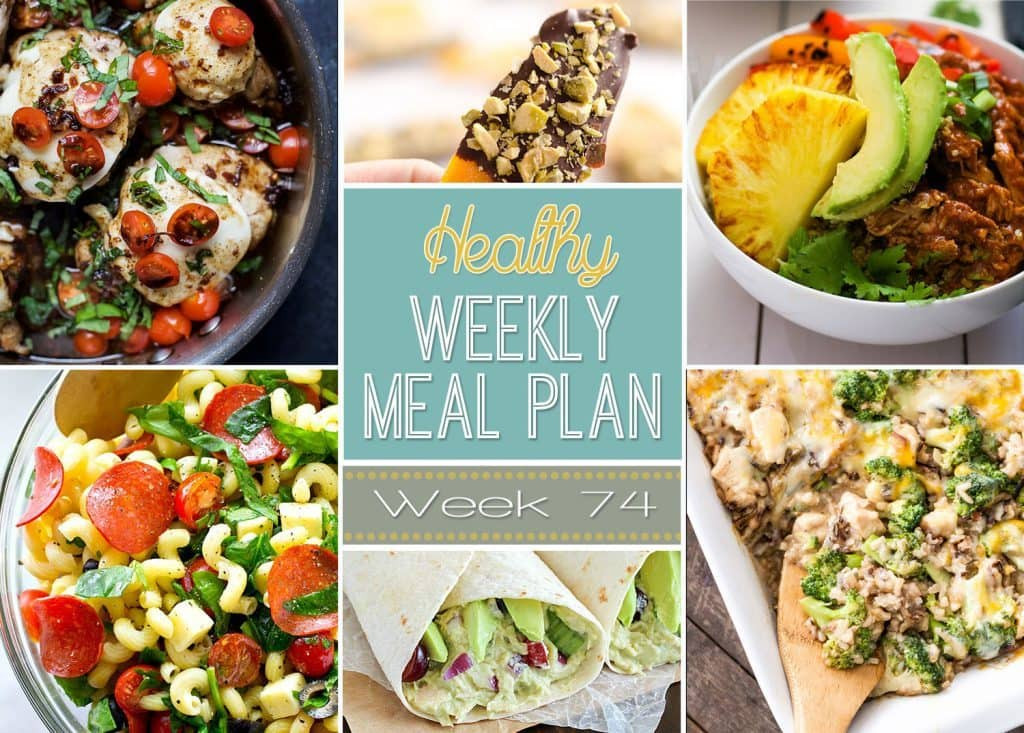 Healthy Dinner Sides  Healthy Weekly Meal Plan 74 Yummy Healthy Easy