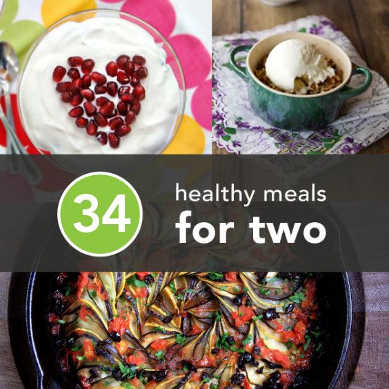Healthy Dinners For Two  Cooking for Two 34 Cheap and Healthy Meals for You and