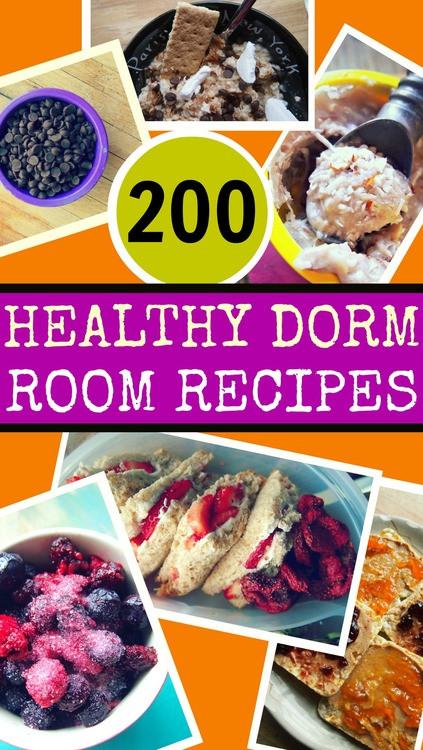 Healthy Dorm Snacks  200 Healthy Dorm Room Recipes – Simply Taralynn
