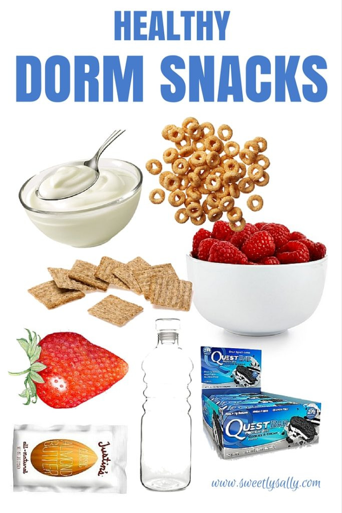 Healthy Dorm Snacks  College Healthy Snacks Dorm Sweetly Sally