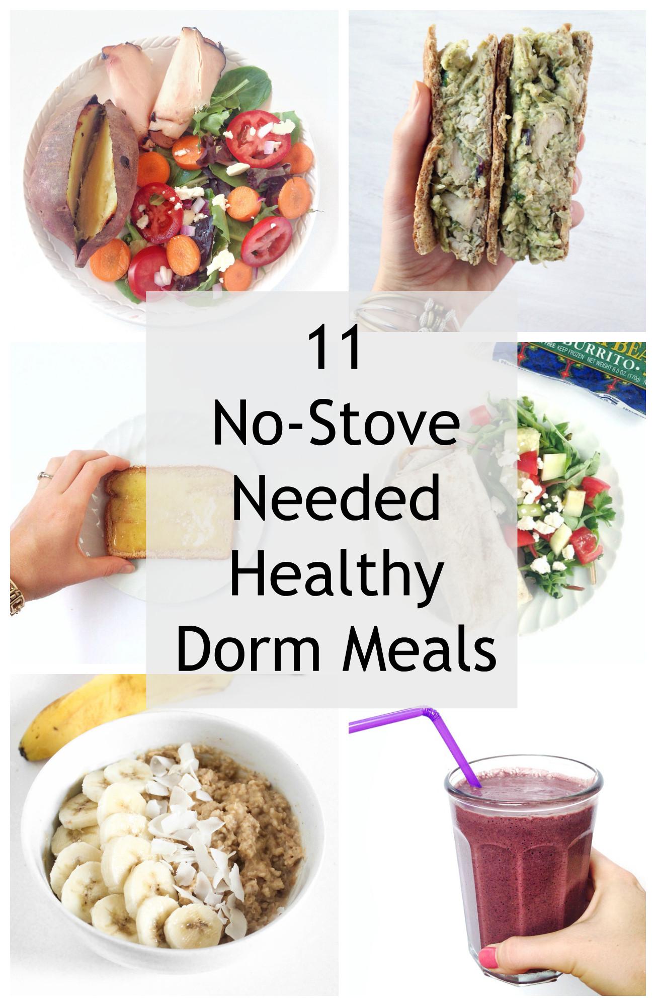 Healthy Dorm Snacks  11 Simple Dorm Room Meals No Kitchen Needed Healthy Liv