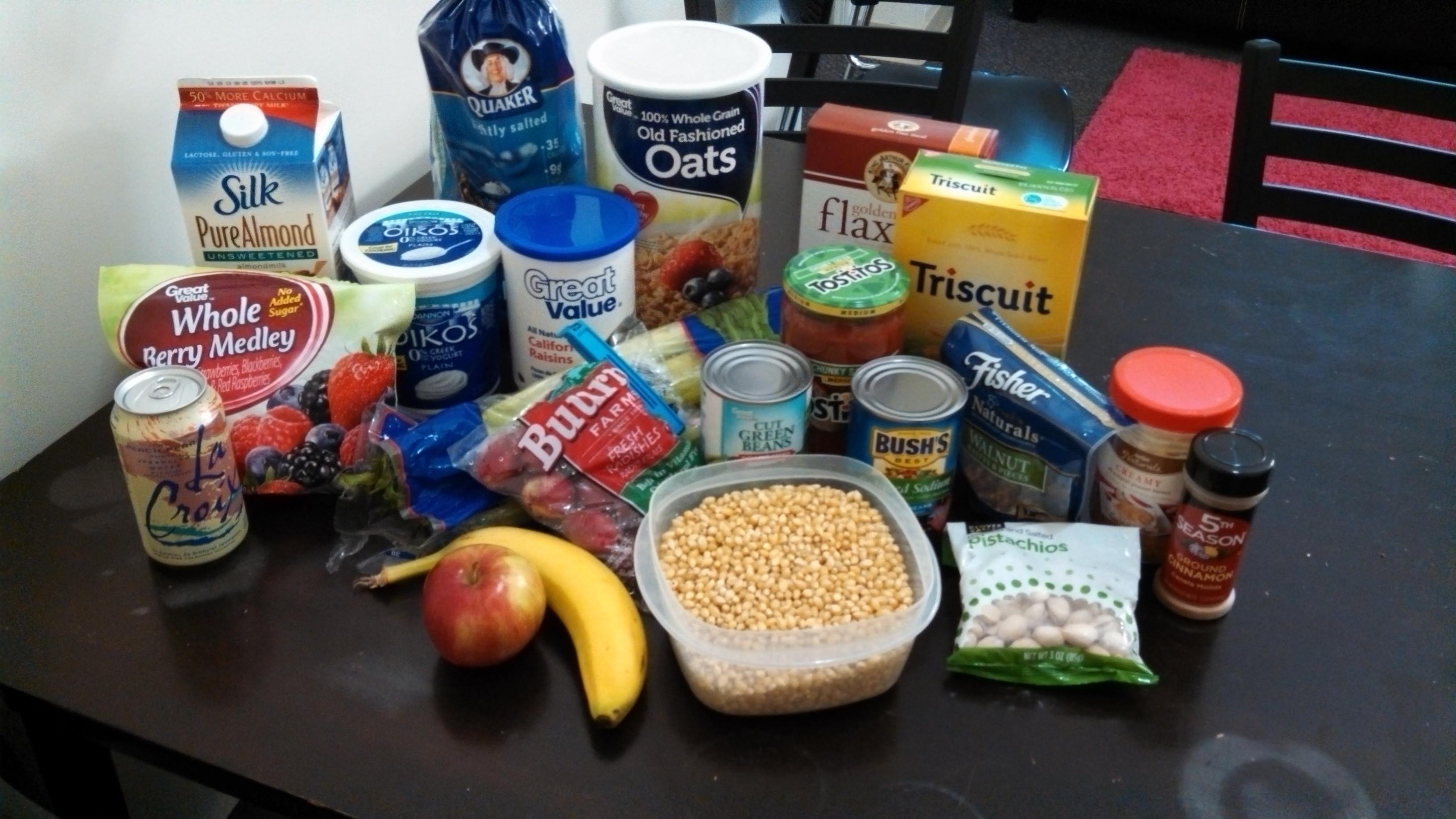 Healthy Dorm Snacks  College Dorm Room Food Ideas