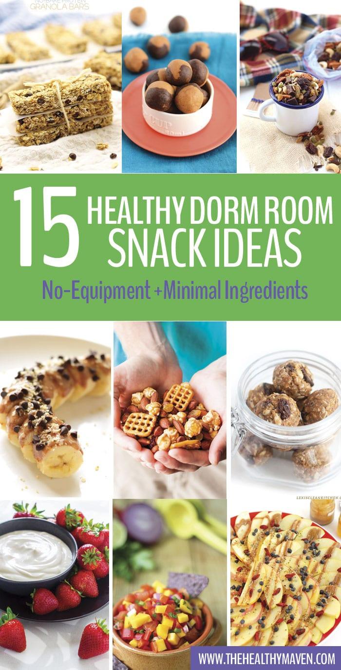 Healthy Dorm Snacks  Healthy Dorm Room Snack Ideas The Healthy Maven