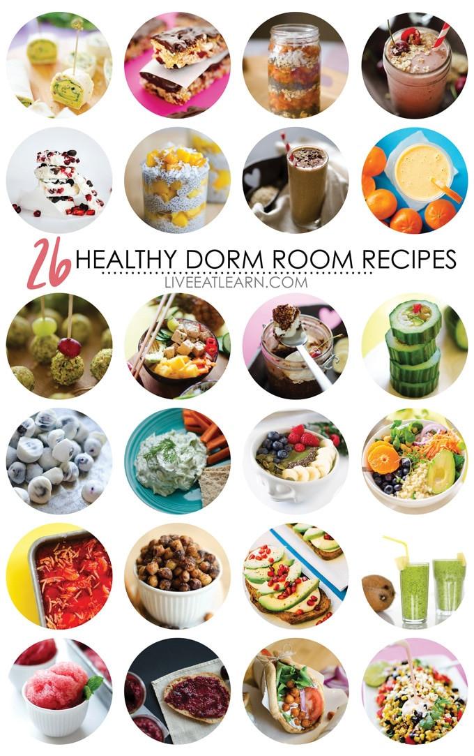 Healthy Dorm Snacks  26 Healthy Dorm Room Recipes