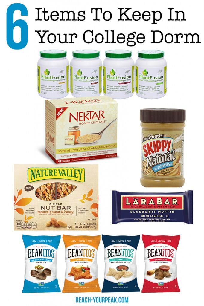 Healthy Dorm Snacks  6 Healthy Foods To Keep In Your Dorm Room Reach Your Peak