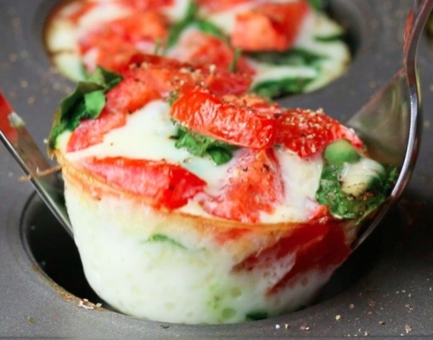 Healthy Egg White Breakfast  Healthy Egg White Breakfast Cups