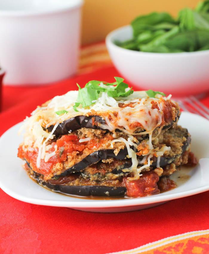 Healthy Eggplant Parmesan Recipe  Healthy Eggplant Parmesan