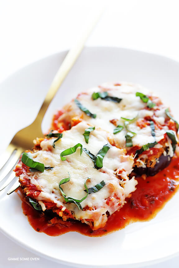 Healthy Eggplant Parmesan Recipe  healthy eggplant parmesan recipe baked