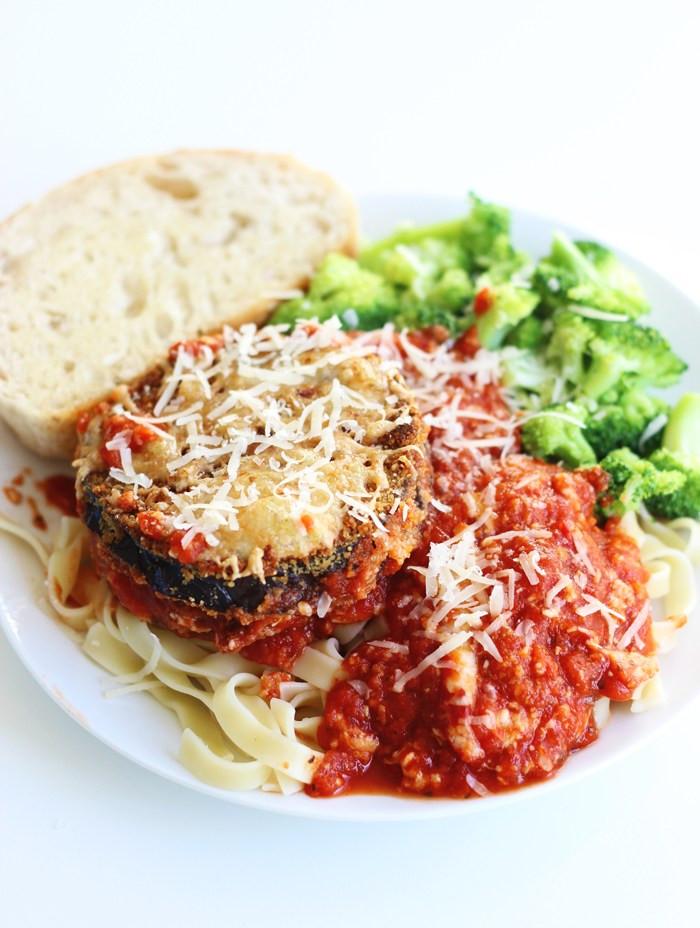 Healthy Eggplant Parmesan Recipe  Healthy Eggplant Parmesan – The Yooper Girl