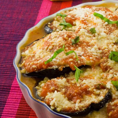 Healthy Eggplant Parmesan Recipe  Healthy Eggplant Parmesan Get Healthy U
