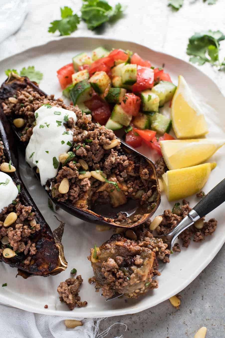 Healthy Eggplant Recipes  Moroccan Baked Eggplant with Beef