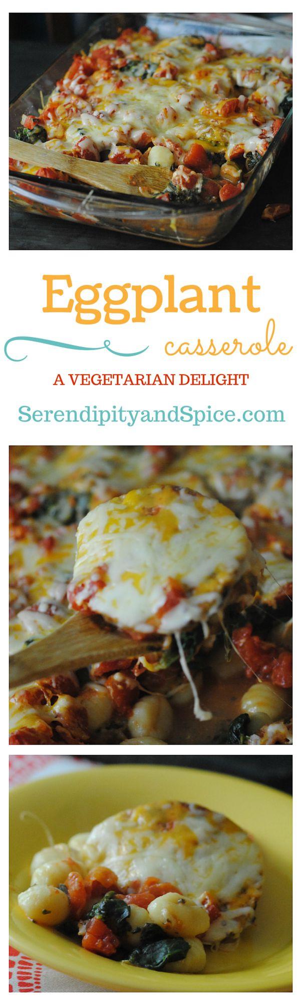 Healthy Eggplant Recipes  Ve arian Healthy Eggplant Casserole Recipe