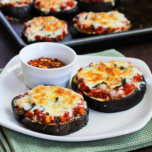 Healthy Eggplant Recipes  Easy healthy recipes for Weightloss Healthy Eggplant Pizza