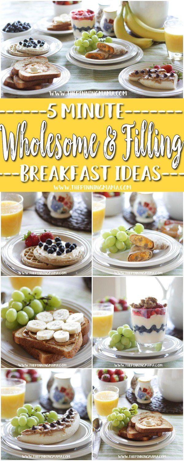Healthy Fast Food Breakfast Options  17 Best ideas about Healthy Breakfasts on Pinterest