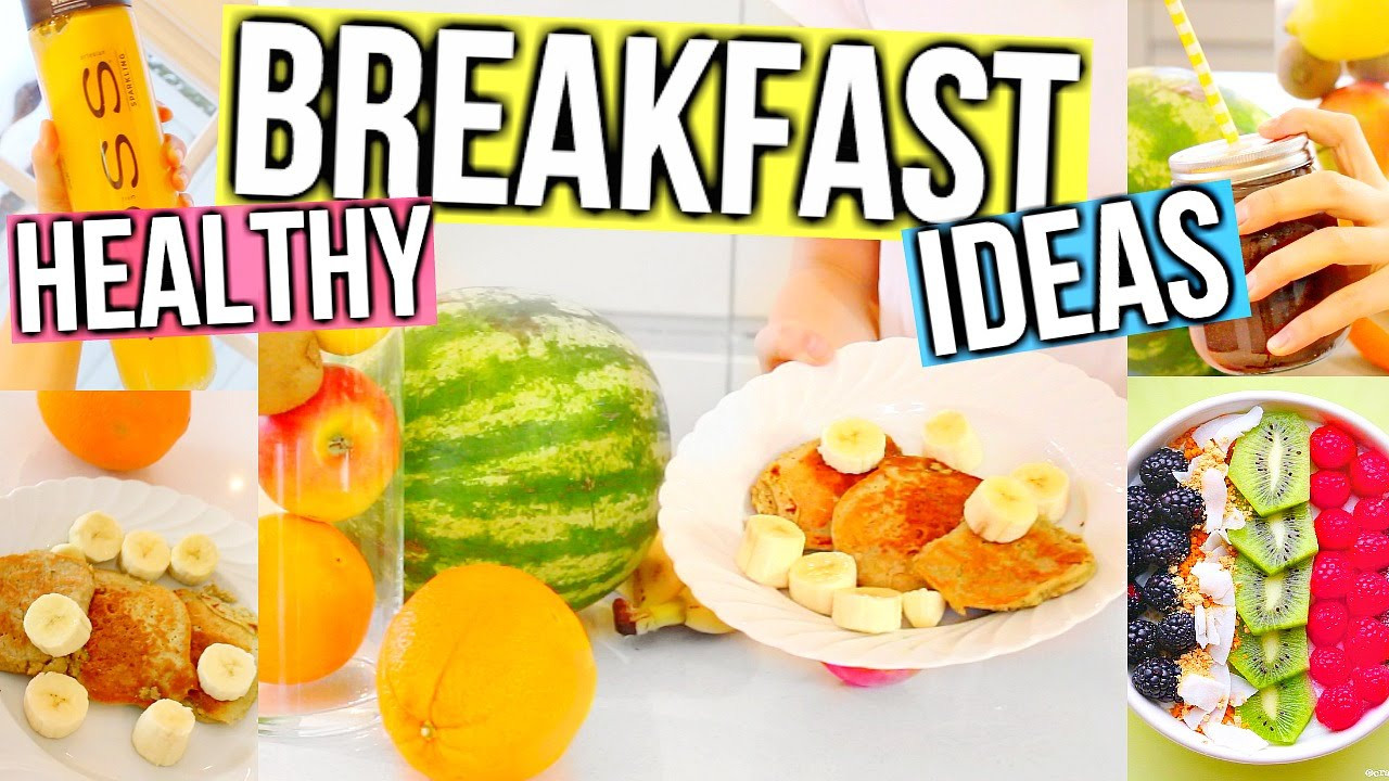 Healthy Fast Food Breakfast Options  Healthy Breakfast Ideas Fast Easy & Delicious