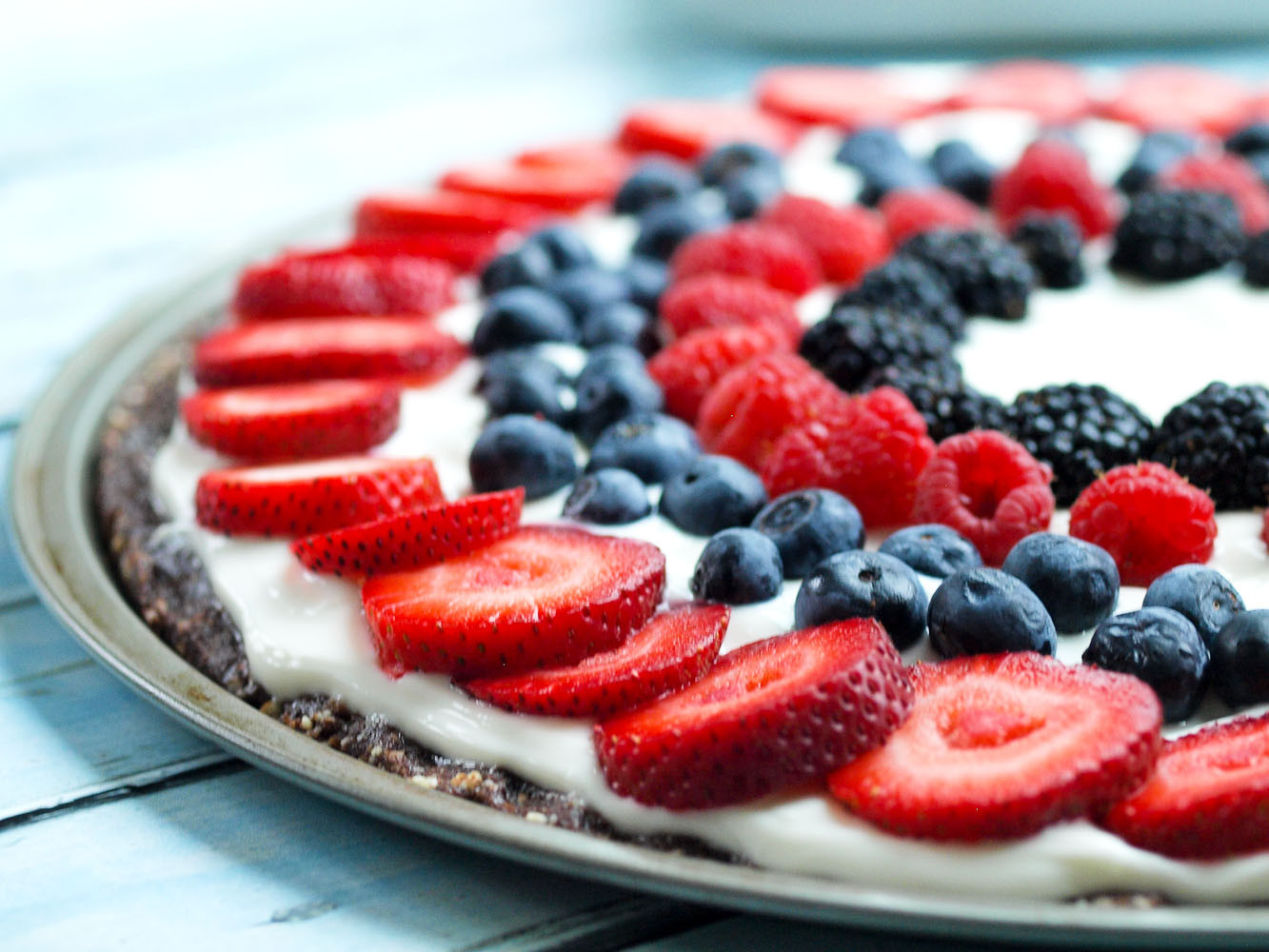 Healthy Fruit Desserts  Easy & Healthy Fruit Dessert Pizza Happy Healthy Mama