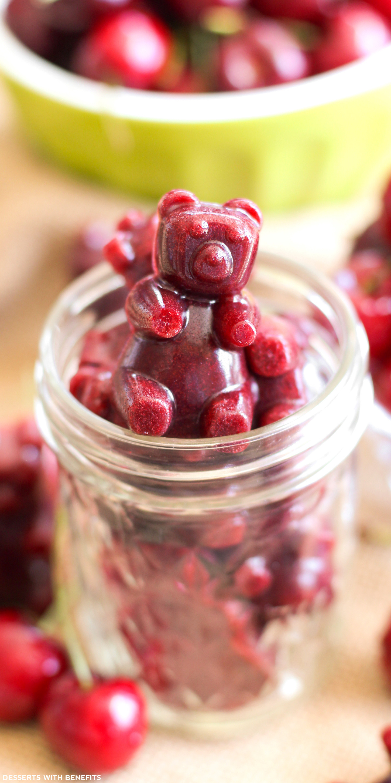 Healthy Fruit Desserts  Healthy Cherry Fruit Snacks Recipe