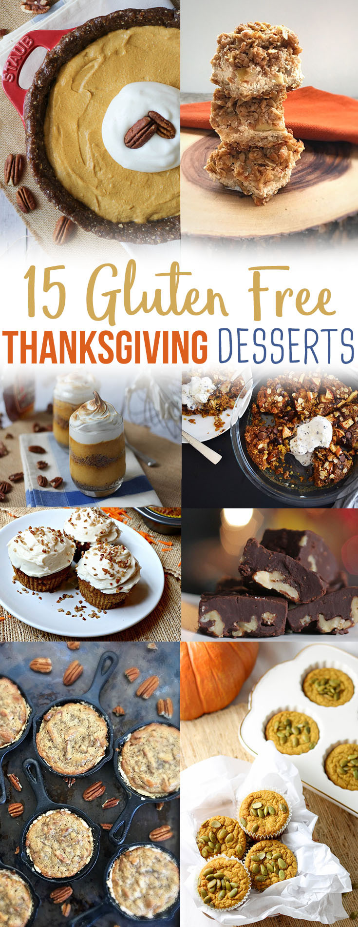 Healthy Gluten Free Desserts  15 Healthy Gluten Free Thanksgiving Dessert Recipes
