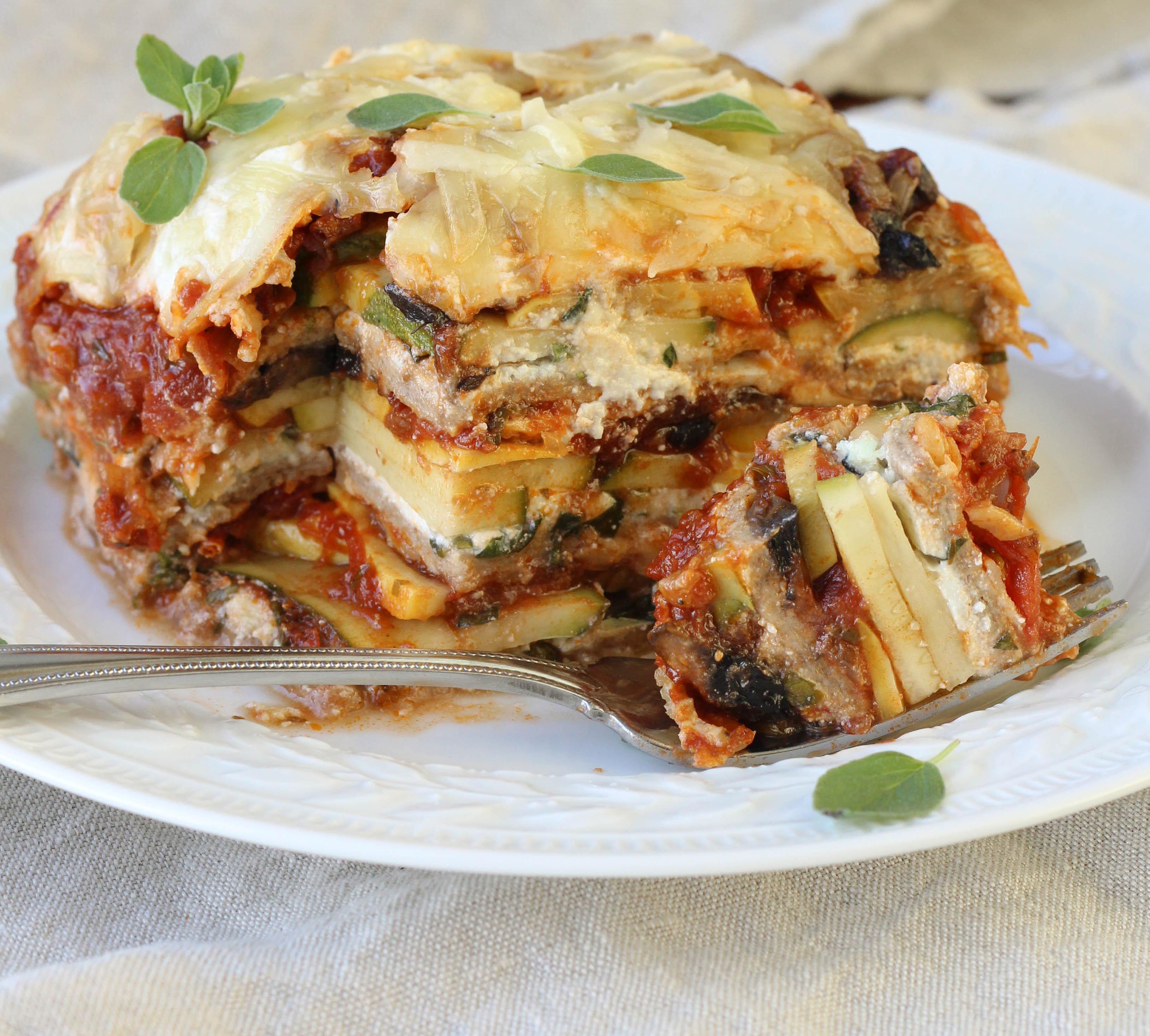 Healthy Lasagna Recipes  healthy ve able lasagna