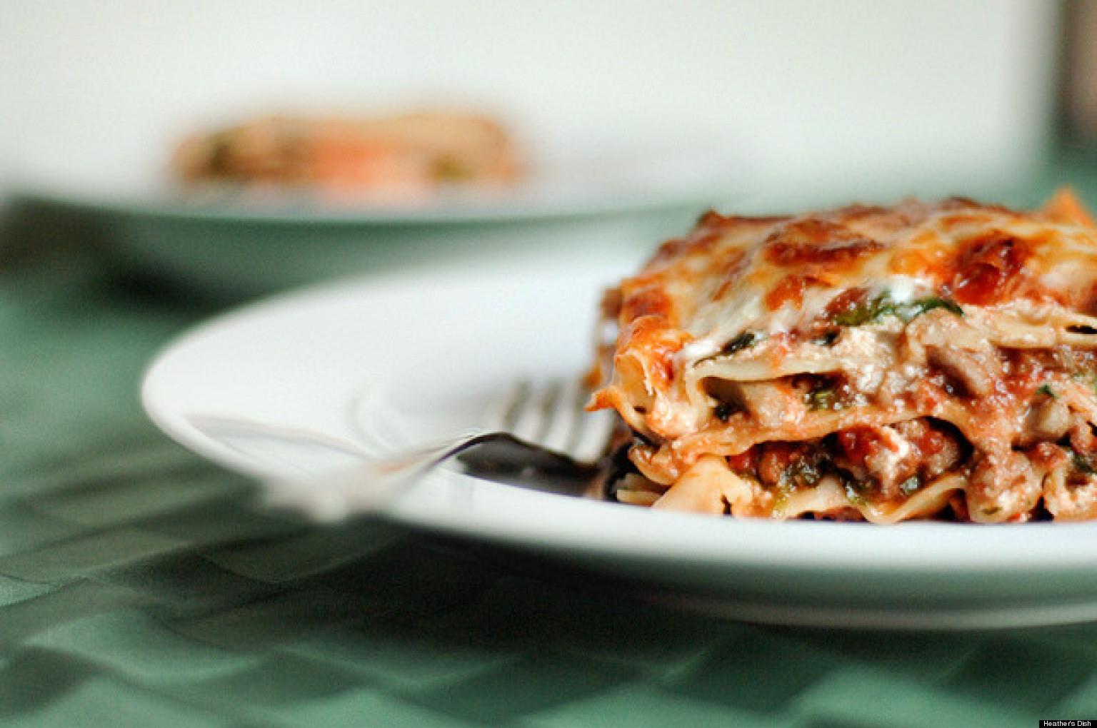 Healthy Lasagna Recipes  Healthy Lasagna Recipes PHOTOS