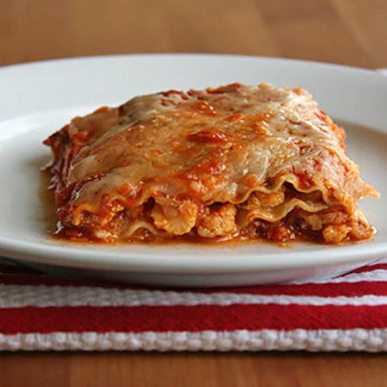 Healthy Lasagna Recipes  Healthy Ve able Lasagna Recipe