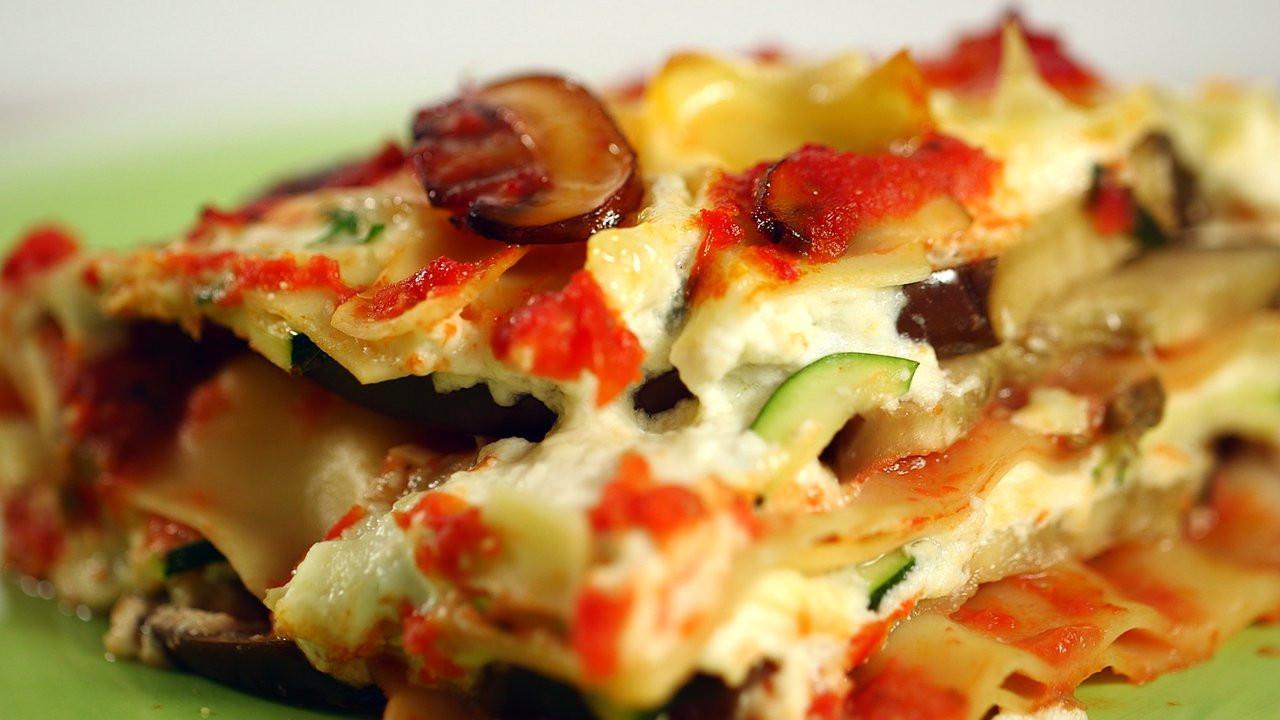 Healthy Lasagna Recipes  Healthy Eggplant Lasagna Recipe HealthiNation