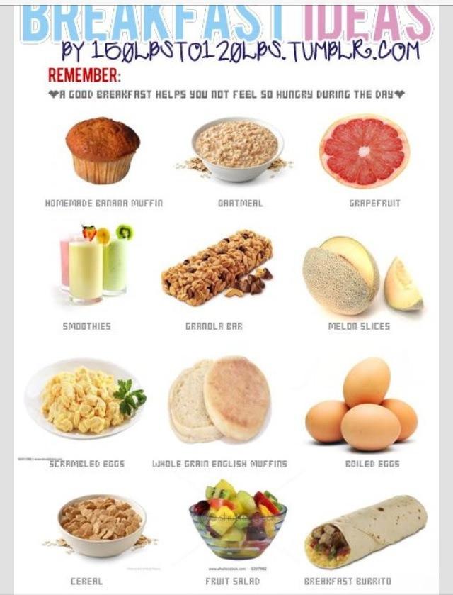 Healthy Low Calorie Breakfast  Healthy Low Calories Breakfast Ideas by Brooklyn