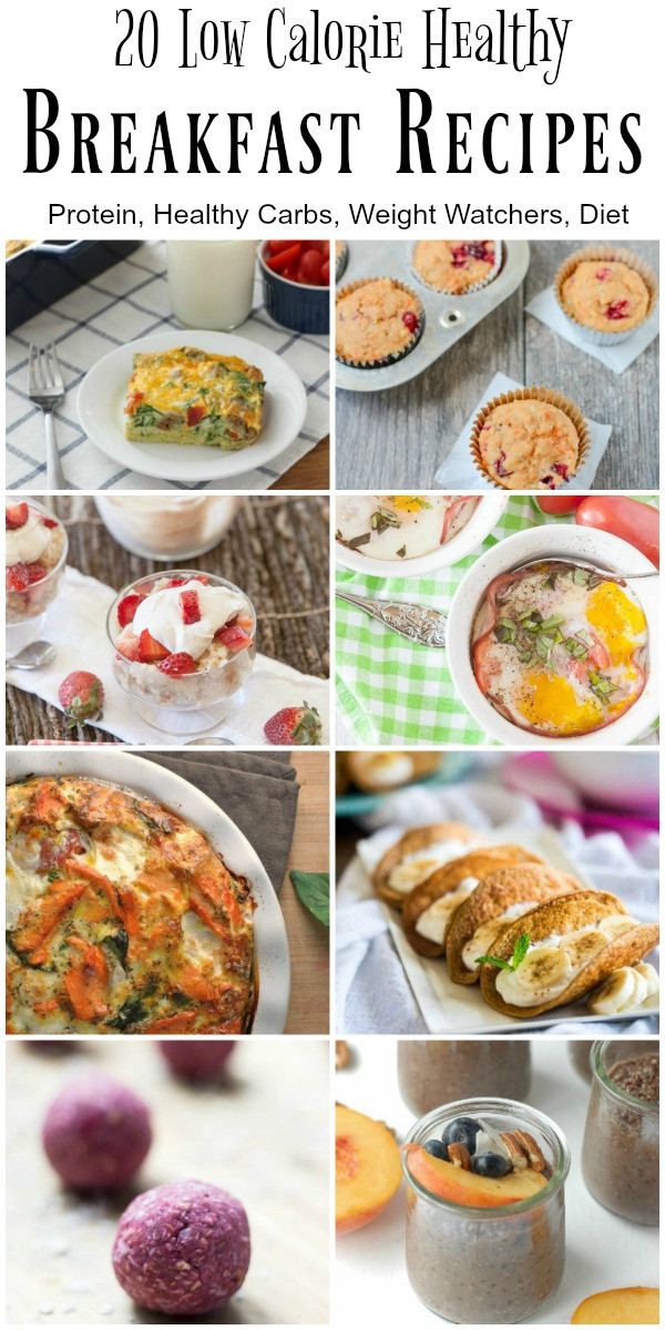 Healthy Low Calorie Breakfast  20 Low Calorie and Healthy Breakfast Recipes Food Done Light