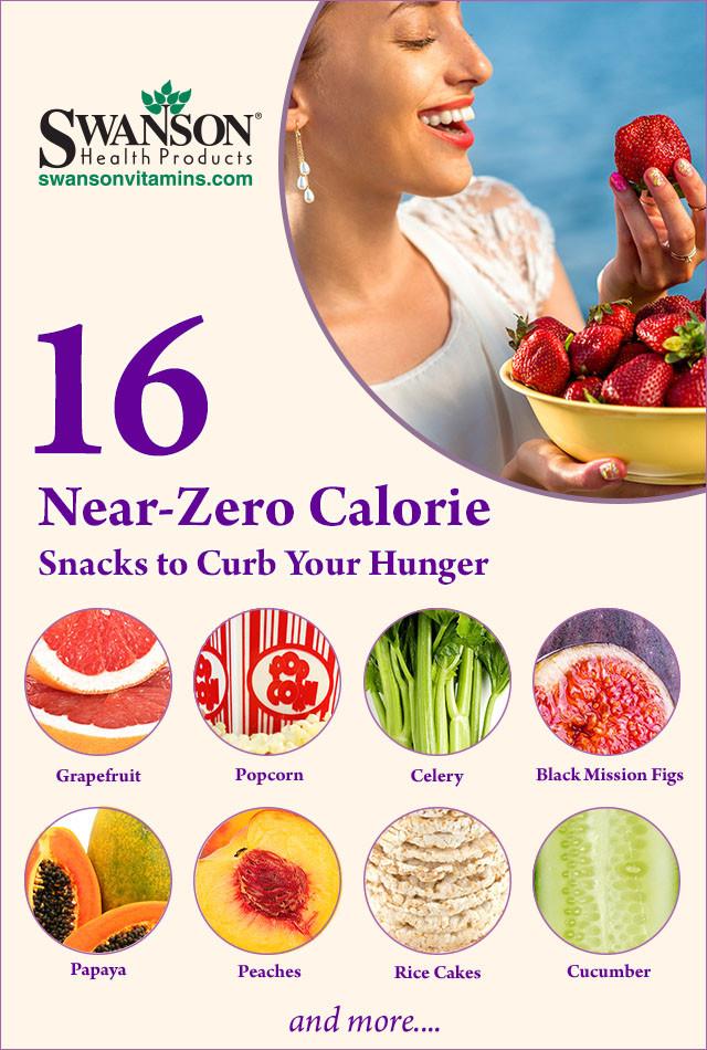 Healthy Low Calorie Snacks  16 Near Zero Calorie Snacks = Best Low Calorie Snacks